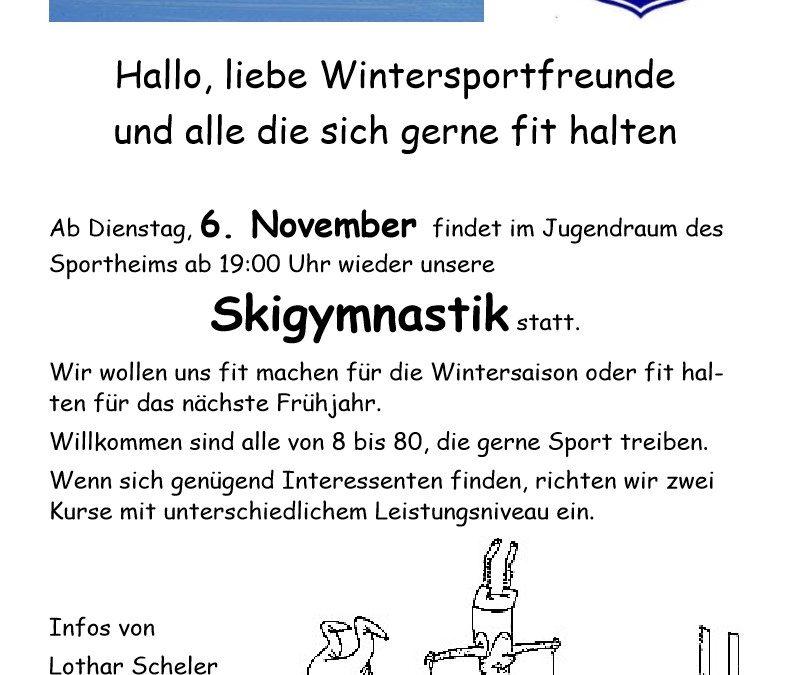 Skigymnastik 2018